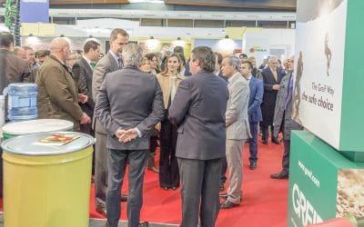 KING OF SPAIN VISITS GREIF AT ARGOEXPO