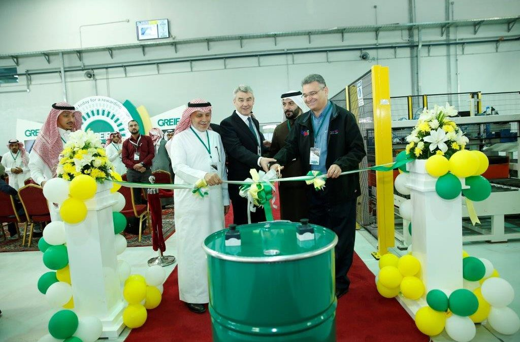 Greif Opens New Steel Drum Plant in Saudi Arabia