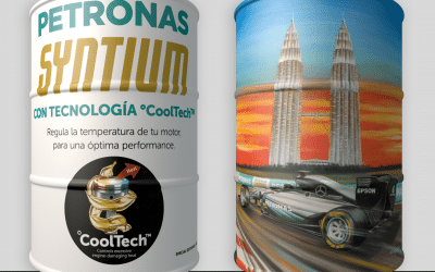 GREIF ARGENTINA REPLICATES A MASTERPIECE ON LARGE STEEL DRUMS FOR PETRONAS