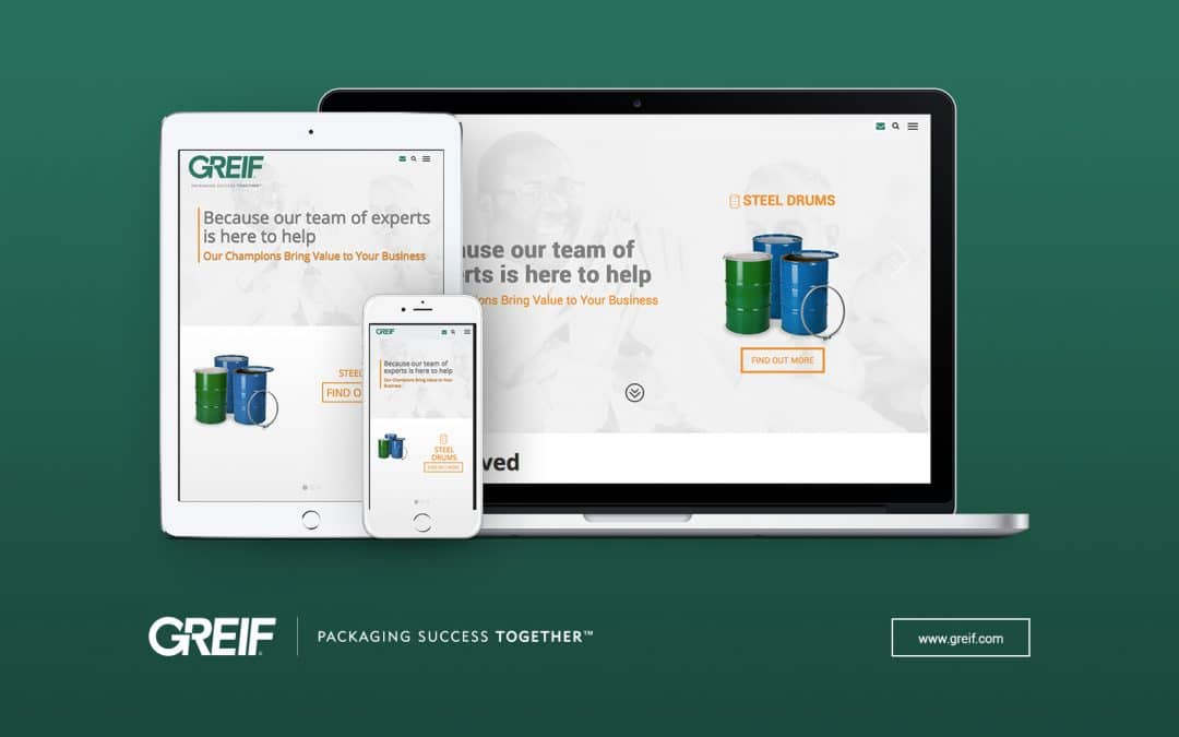 Greif Launches New Global Website